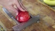 درست کردن دسر سیب زیبا(واقعا دیدنی)