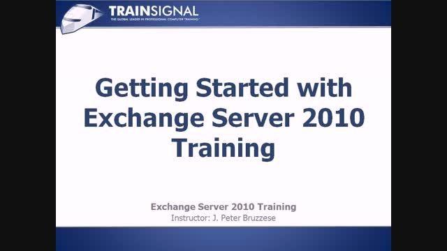 دوره آموزشی Exchange Server 2010