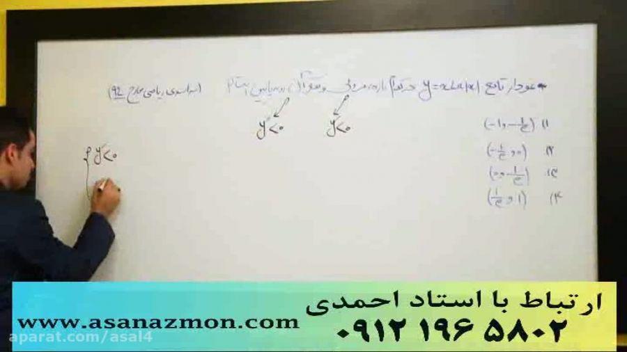 جدیدترین تدریس مهندس مسعودی کنکور (مشتق3) کنکوری 7
