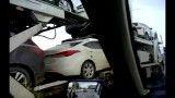 تریلی های حمل اتومبیل ترکیه در سراب