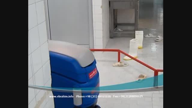 اسکرابر صنعتی- اسکرابر کف شو- زمین شوی باتری دار