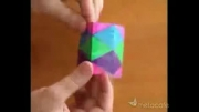 A cool paper toy(Kaleidocycle