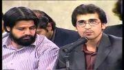 شعرخوانی سید حمیدرضا برقعی در محضر رهبر انقلاب-طوفان واژه ها