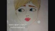 نقاشی من از پرنسس الکسا نصفه هست!