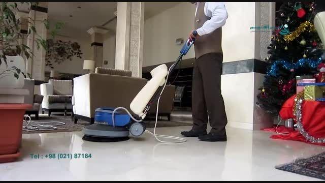 نظافت هتل/پولیشر صنعتی جدید/شرکت ابراهیم