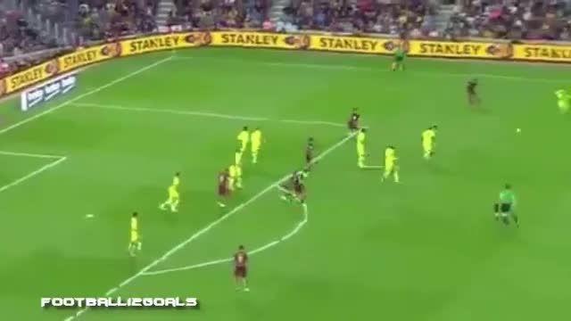 خلاصه بازی بارسلونا 4 - 1 لوانته