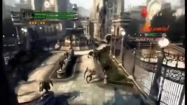 گیم پلی Devil May Cry 4 Special Edition با شخصیت لیدی