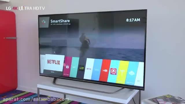 خرید تلویزیون فورکا ال جی 49uf770 فروشگاه سلام بابا