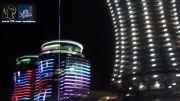 نورپردازی زیبای پروژه قو الماس خاورمیانه (متل قو)