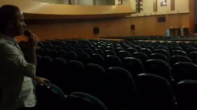 پشت صحنه ی خنده ار و باحال کنسرت خنده ی کرج - نژاد فلاح