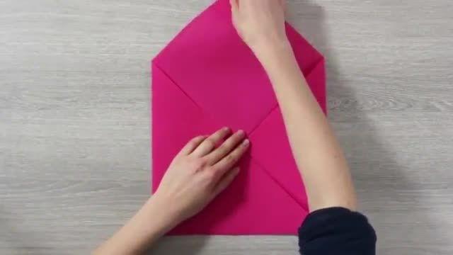 آموزش تاکردن دستمال سفره شیک به شکل گل:)✿
