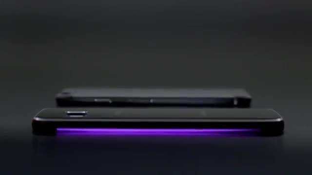 مقایسه جدید سامسونگ از گوشی های گلکسی اس ۶ اج و آیفون ۶