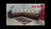 مبل ال تختخواب شو مدل PL28 - سایت AraSofa.com
