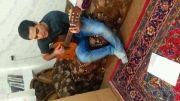 حمید عسکری تقاص ,با گیتار