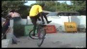 مهارت بچه محله ای مون تو دوچرخه سواری.(خودم یادش دادم)