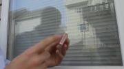 روشن کردن کبریت با شیشه پنجره(ترفند بقا 11)