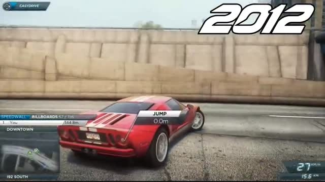 NFS Most Wanted 2005 vs NFS Most Wanted 2012