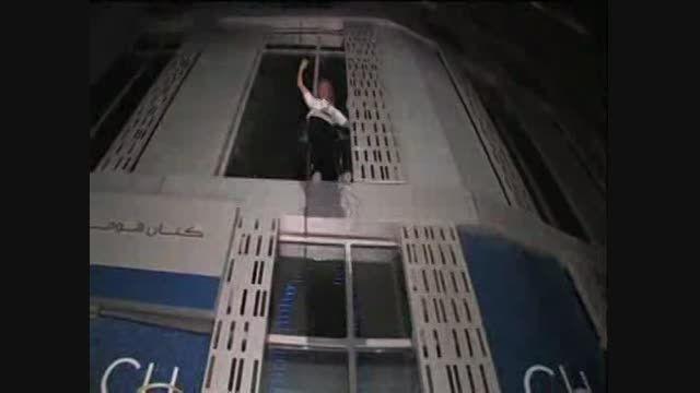 امارات؛ صعود مرد عنکبوتی از آسمانخراش 307 متری