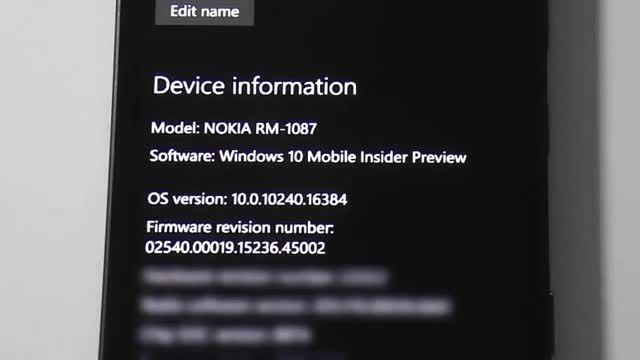 ویدیویی از عملکر بیلد 10240 ویندوز 10 موبایل