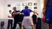 تمرین وینگ فایت-جوجیتسو برزیلی و بوکس