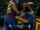 گل زیبای ویا به میلان در جام قهرمانان اروپا2012-2011 - مرحله ی گروهی لیگ قهرمانان اروپا