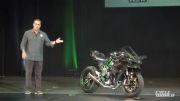 رو نمایی از 2015 Kawasaki Ninja H2R