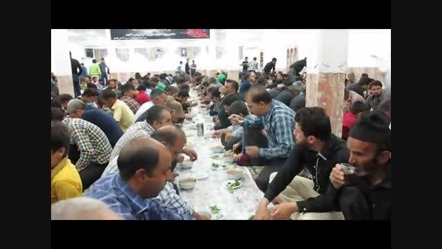 افطاری شب 19 ماه مبارک رمضان در محل حسینیه آقاعلی(3)