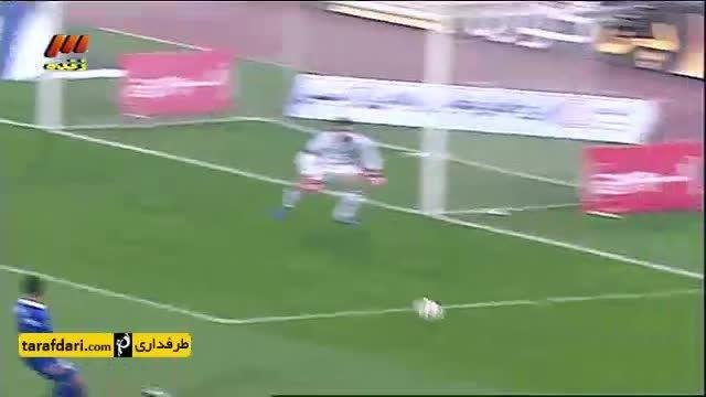 خلاصه بازی استقلال 0 - 1 نفت تهران