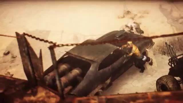 اولین تریلر گیم پلی بازی Mad Max