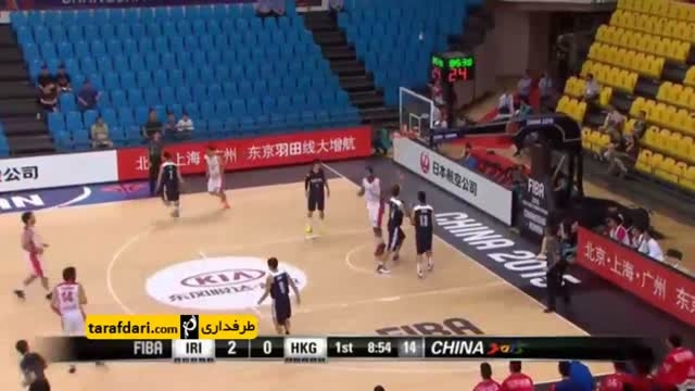 بسکتبال جام ملت های آسیا؛ ایران 111- 56 هنگ کنگ