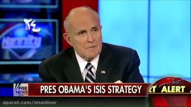 سیاستمدار سرشناس آمریکایی - داعش ساخته دست اوباما !