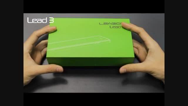جعبه گشایی و معرفی ویدیویی گوشی هوشمند Lead 3