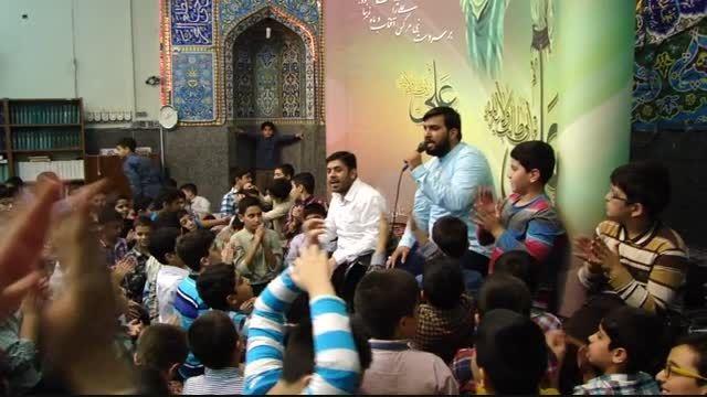 کلیپ تصویری جشن عید غدیر در دبستان پیام غدیر 1