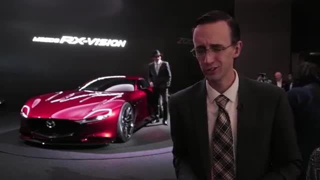 خودروی جدید مزدا به نام RX-Vision