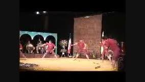 اجرای آیین های پهلوانی و  زورخانه ای در ژاپن