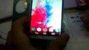 کیفیت صفحه ی گوشی lg g3