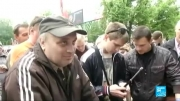 مردم شرق اوکراین اماده برای جنگ داخلی