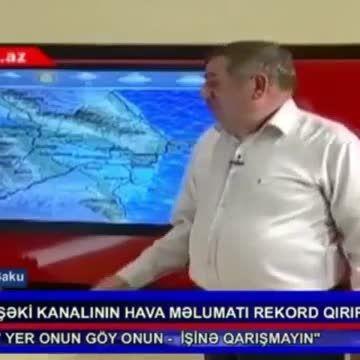 کارشناس هواشناسی آذربایجان
