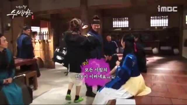 موزیک ویدیو فوق العاده پشت صحنه سریال دختر امپراطور(2)