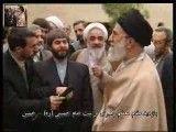 کلیپ دیدنی از بازدید مقام معظم رهبری از بیت امام خمینی (ره) در خمین