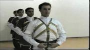 رقص آذری جلسه دوم(میللی یئریش)-آذری اویون اویرنیشی