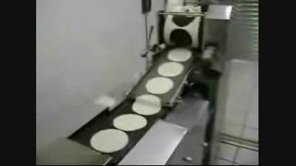 دستگاه تولید نان پیتزا