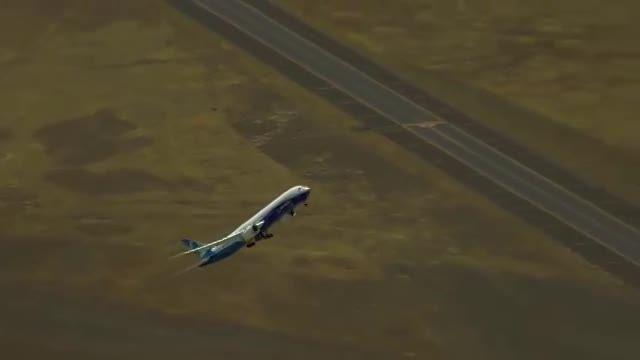 نمایش هوایی جذاب با بوئینگ 9-787  - justfly.ir