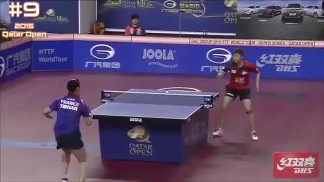 ۱۰امتیاز برتر مسابقات پینگ پنگ مردان و زنان اوپن قطر