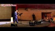 کنسرت خنده دار حسن ریوندی در برج میلاد