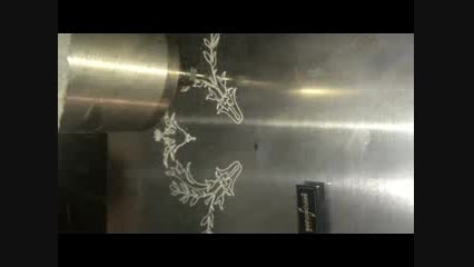 شرکت نورآفرین-حکاکی رو آلومینیوم -سی ان سی فرز سه محور