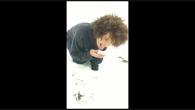وقتی برف میبار:))عمو عــــــــــــفرومن:)