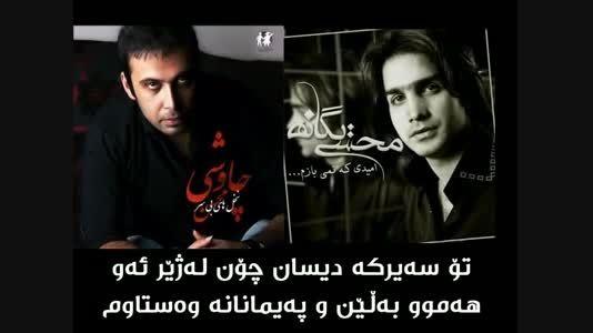 محسن یگانه و چاوشی نشکن دلمو