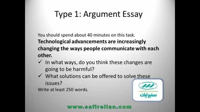 10 Type 1 of IELTS essay in task two