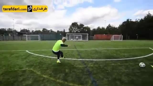 فوتبال نمایشی- گل های دیوانه وار
